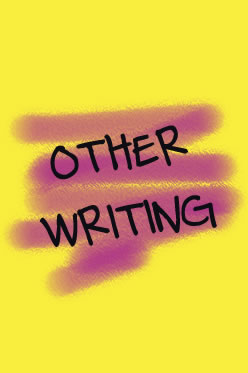 Other Writing by Amy Reed