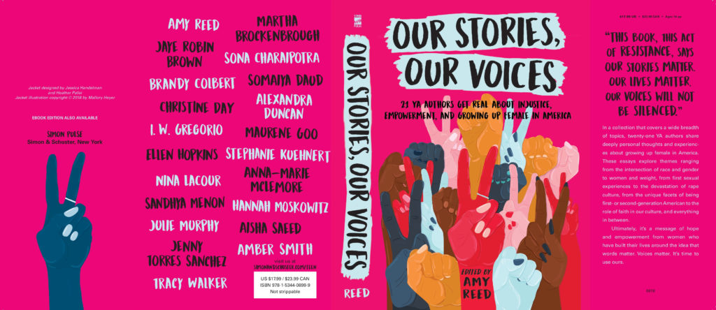 Our Stories, Our Voices by author Amy Reed
